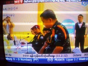 The KNU/KNLA delegation