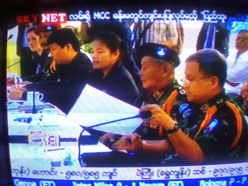 In the KNU delegation were two women